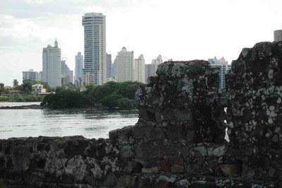 Ruins amongs skyscrapers Panama City - Panama Real Estate Opportunities.jpg