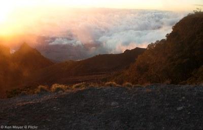 Sunrise atop Barú Volcano, Boquete