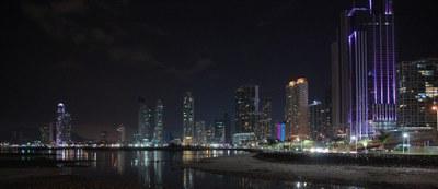 Breathtaking Night Skyline of Panama City