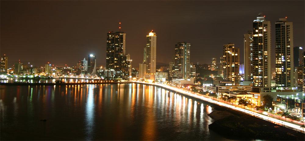Panama City Modern Skyline